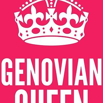Genovian Queen Princess Diaries White Version by desexperiencia
