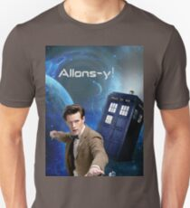 Dr. Who collage/Allons-y! Unisex T-Shirt