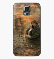Outlander-Collage Hülle & Klebefolie für Samsung Galaxy