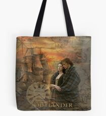 Outlander collage Tote Bag