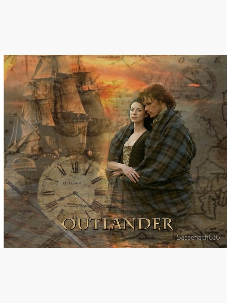 Outlander collage by Sassenach616