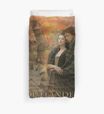 Outlander collage Duvet Cover
