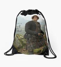 I'll have a Scot on the Rocks!  Drawstring Bag