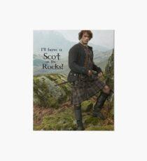 Lámina rígida ¡Tendré un escocés en las rocas!