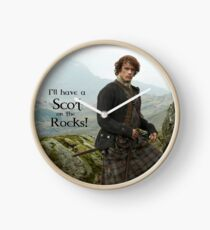 I'll have a Scot on the Rocks!  Clock