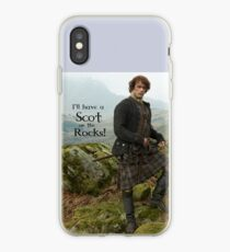 I'll have a Scot on the Rocks!  iPhone Case