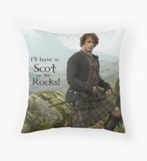 I'll have a Scot on the Rocks!  Throw Pillow