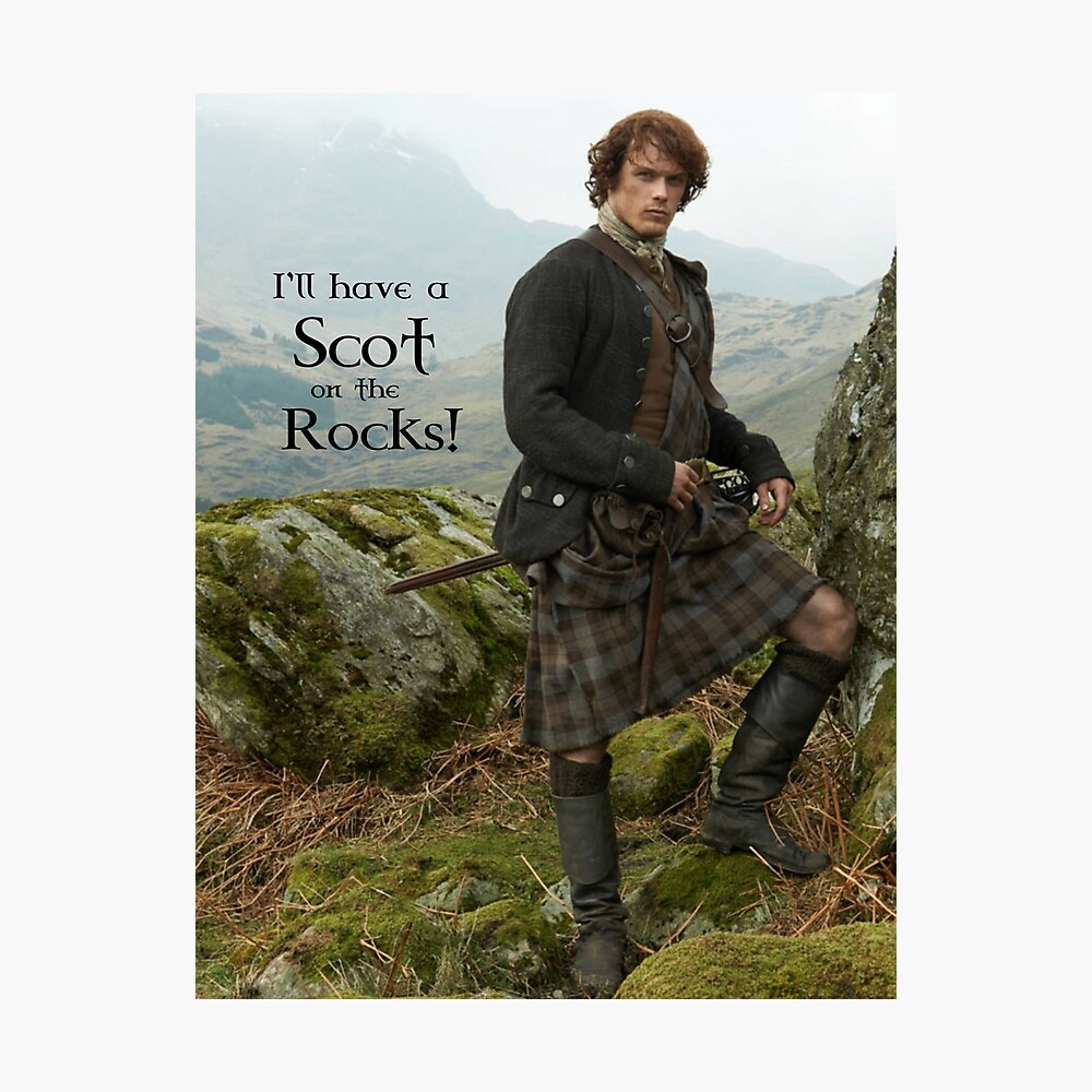 I'll have a Scot on the Rocks!  Photographic Print