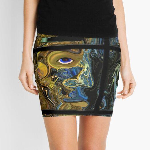 Spiritual Warrior Mini Skirt