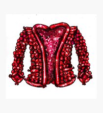 The Balloon Suited Man's Jacket Photographic Print