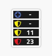 Reflex Item Timers Sticker