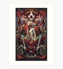 The Stitching Gullet Art Print