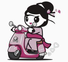 Scooter Geisha