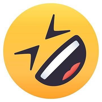 ROFL Face Emoji by joypixels