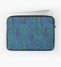 Blue Grotto Abstract Watercolor Laptop Sleeve