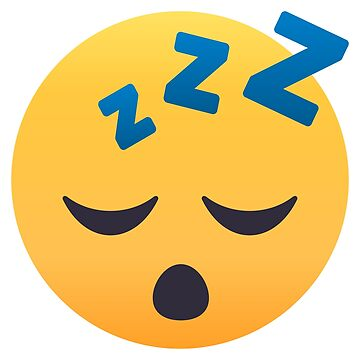 Sleepy Face Emoji by joypixels