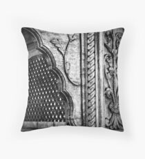 indian lacquer Throw Pillow