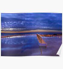 Curl Curl Ocean Baths Poster