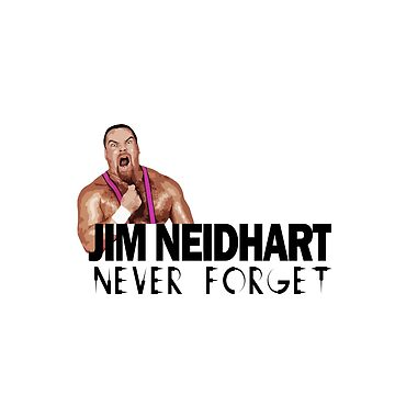 Jim Neidhart by Aidart