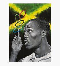 Usain Bolt Fotodruck