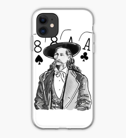 Wild Bill Hickok Poker Legend iPhone Case