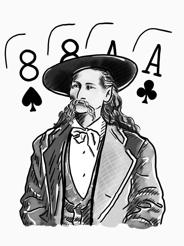 Wild Bill Hickok Poker Legend by fullrangepoker