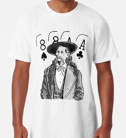 Wild Bill Hickok Poker Legend Long T-Shirt