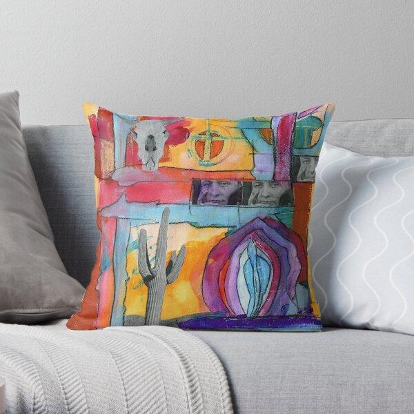 Georgia O'Keeffe Throw Pillow