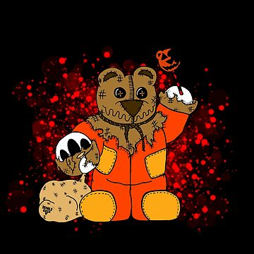 Trick or Treat Bear by BearlyGoin