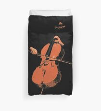 The Cello Duvet Cover