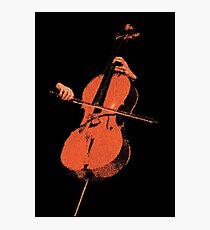 The Cello Photographic Print