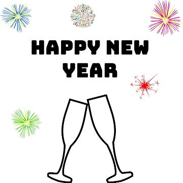 Happy New Year Sylvester Shirt by hourglass7