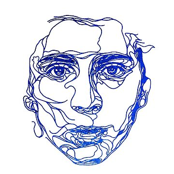 TIMOTHEE CHALAMET - simple line drawing by MelanixStyles