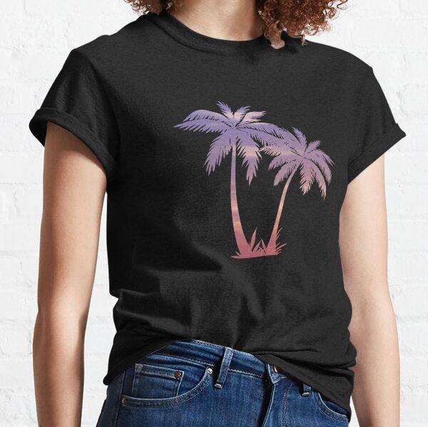 Sunset Palm Trees Classic T-Shirt