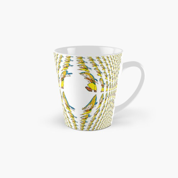 pattern, background, abstract, vector, texture, graphic, geometric, modern, seamless, wallpaper, line, backdrop, trendy, template, simple, decor, retro, decoration, style, shape, black, cover, fabric Tall Mug