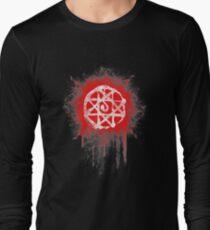 FMA. Alphonse Elrick blood sign. Fullmetal Alchemist. Long Sleeve T-Shirt