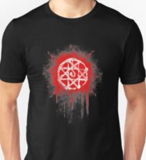 FMA. Alphonse Elrick blood sign. Fullmetal Alchemist. T-Shirt