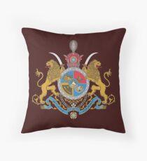 Kaiserliches Wappen des Iran unter der Pahlavi-Dynastie Dekokissen