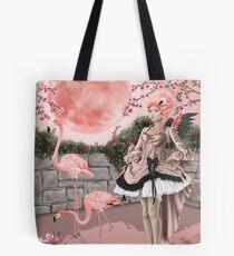 Bolsa de tela Flamingo Fairy - Pink Moon