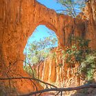 Through The Arch At Golden Gully by Michael Matthews