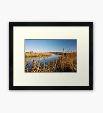 Autumn in Snape Framed Print