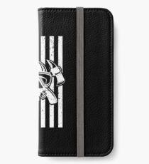 Firefighter Gift USA Flag Fireman Fire Department Gift iPhone Wallet/Case/Skin