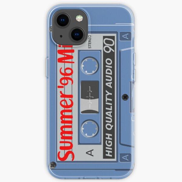 Summer 96 Mix Cassette Tape Case iPhone Soft Case