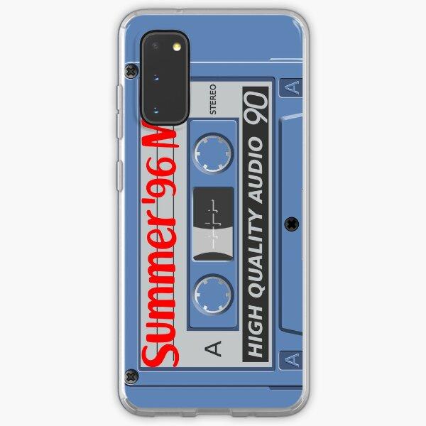 Summer 96 Mix Cassette Tape Case Samsung Galaxy Soft Case