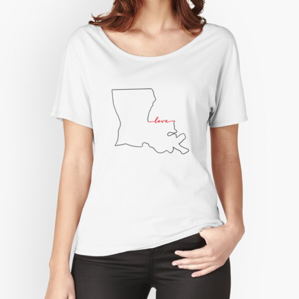 Home Sweet Home - Louisiana LOVE Relaxed Fit T-Shirt