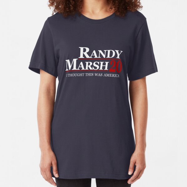 Randy Marsh 2020 - I Thought This Was America Slim Fit T-Shirt
