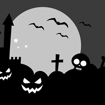 Spooky Background by creepyjoe