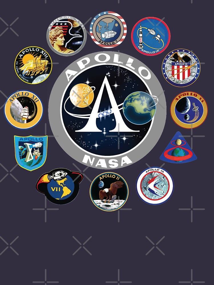 Apollo Missions Patch Badge - NASA Program by SpaceGeeks