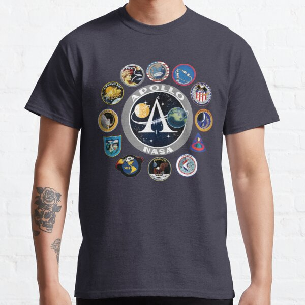 Apollo Missions Patch Badge - NASA Program Classic T-Shirt