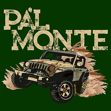 Puerto Rico Off Road Jeep - Vamonos Pal Monte by ShikitaMakes